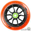 MFX SYNDICATE AR 120mm Wheels - Black Orange - Face - MGP207-076