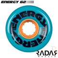 Radar Wheels Energy 62 Teal - Front - RWRE62TE