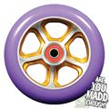 MGP DDAM CFA 110mm Scooter Wheel - GoldPurple - 203-396