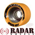 Radar Wheels SpeedRay 62mm Orange Firm
