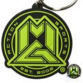 MGP Rubber Key Ring