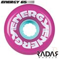 Radar Wheels Energy 65 Purple - Front - RWRE65PU