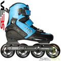 Seba TRIX Junior skates Black Blue Side View - SSK15-TRXJB