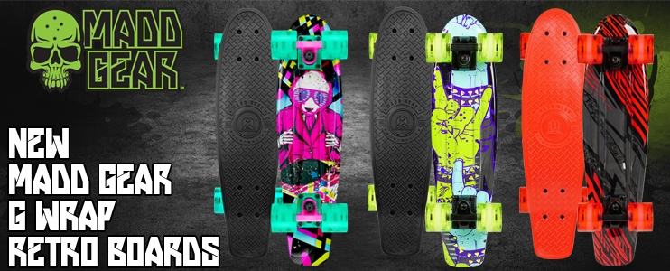 Madd Gear G Wrap Retro Boards