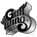 Gullwings Wings Logo Black Grey Fade