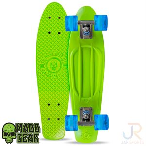 Madd SKINS Retro Board - Lime Blue - MGP205-527