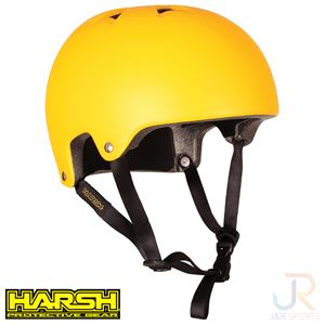 Harsh PRO EPS RENTAL Helmet - Matt Yellow 204-505