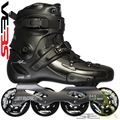 Seba FR2 80 Skates Black Side View - SSK14-FR280