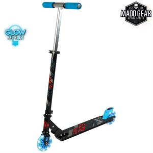 Madd Gear CARVE Rize - Black Blue - Angled - MGP207-572