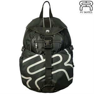 FR Backpack - Medium - Black - Front View - FRBGBPMBK
