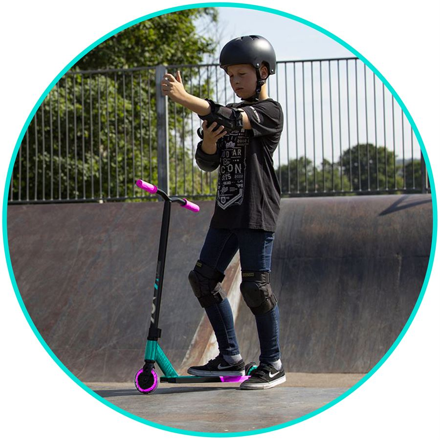 Madd Gear MGP 2020 Kick Pro Complete Scooter Teal Pink