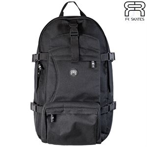 FR Backpack - Slim - Black - Front View - FRBGBPSLBK