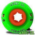 Abec 11 Strikers 66mm Single