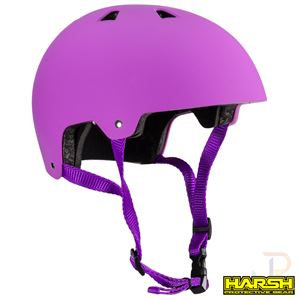 Harsh ABS Helmet - Pink - Angled - HA207-228